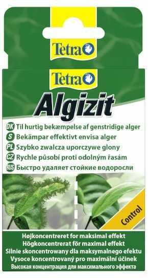 Tetra Algizit - preparat do zwalczania glonów