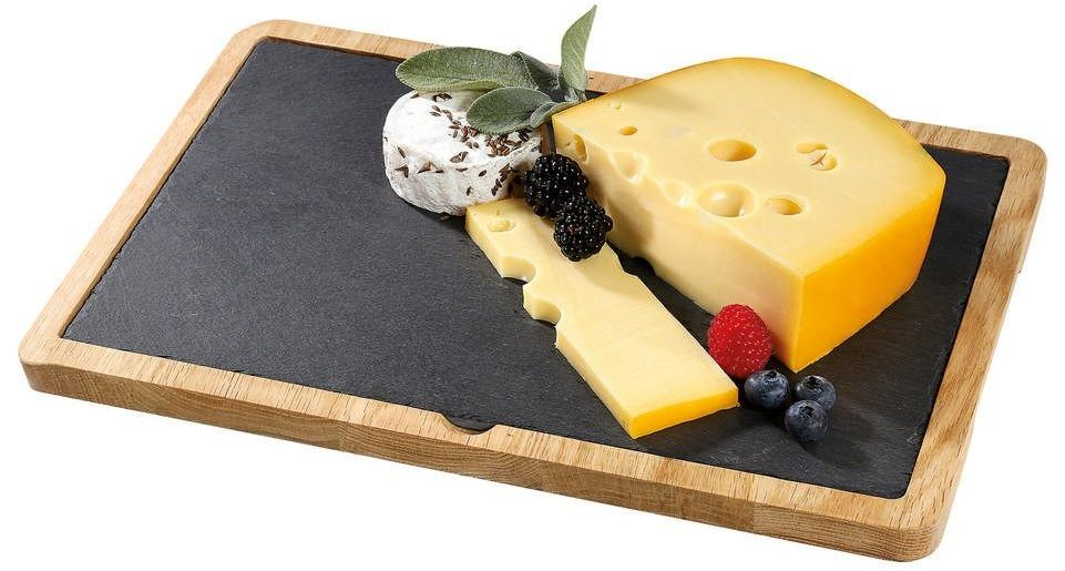 Cilio - formaggio - deska do serwowania sera z dębową podkładką 33,00 cm