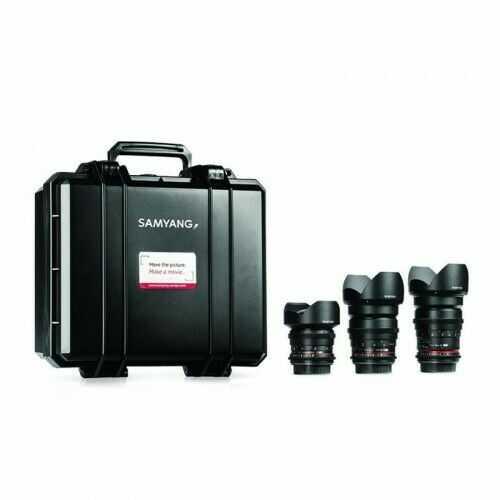 Samyang VDSLR Kit 1 (14mm, 24mm, 35mm) Sony