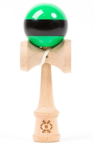 Tribute Kendama Single Stripe Green Black