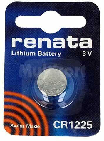Bateria litowa 3V CR1225 RENATA fi16x3,2mm 48mAh