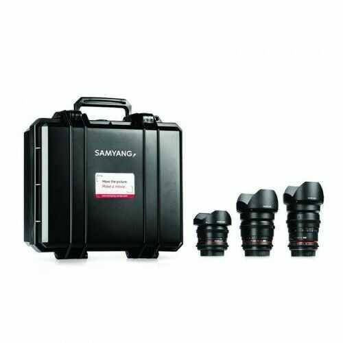 Samyang VDSLR Kit 3 (8mm, 16mm, 35mm) Nikon