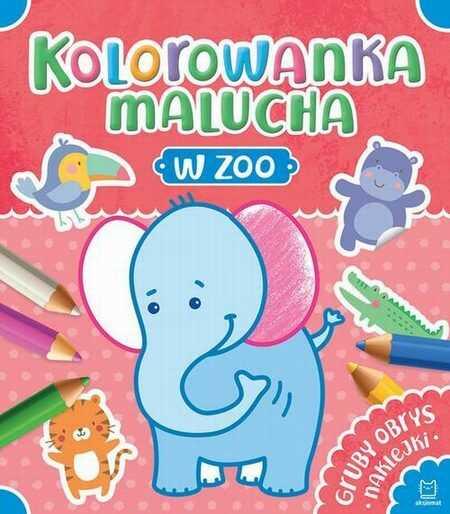 Kolorowanka malucha W zoo