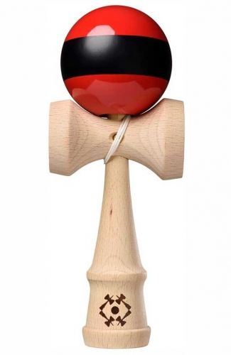 Tribute Kendama Single Stripe Red Black