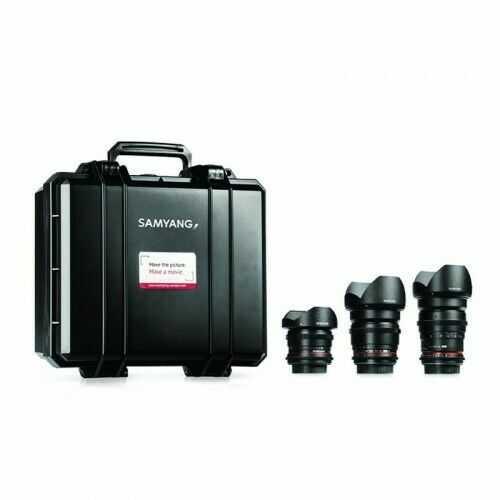 Samyang VDSLR Kit 3 (8mm, 16mm, 35mm) Sony