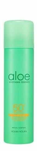 Holika Holika Aloe spray przeciwsłoneczny z wysokim filtrem SPF50+ PA++++ 100 ml