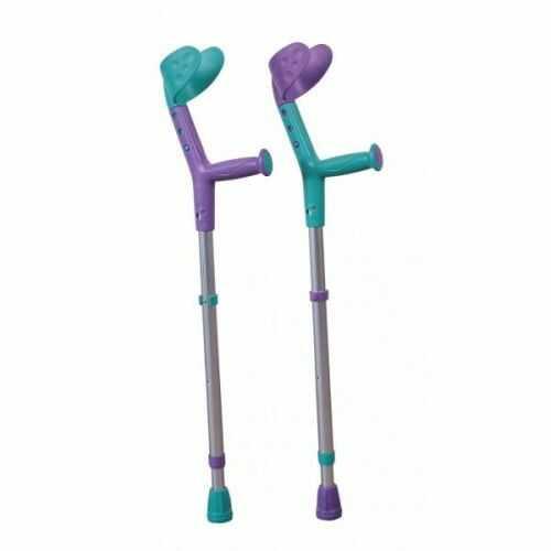 Kula inwalidzka TIKI dla dzieci, turkusowo-fioletowa 200510