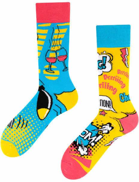 Boom Boom, Todo Socks, Bomba, Wybuch, Granat, Kolorowe Skarpety