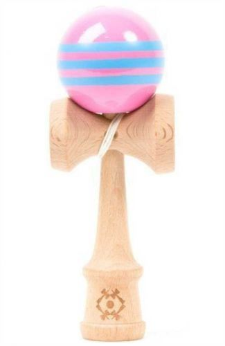 Tribute Kendama Triple Stripe Pink Blue