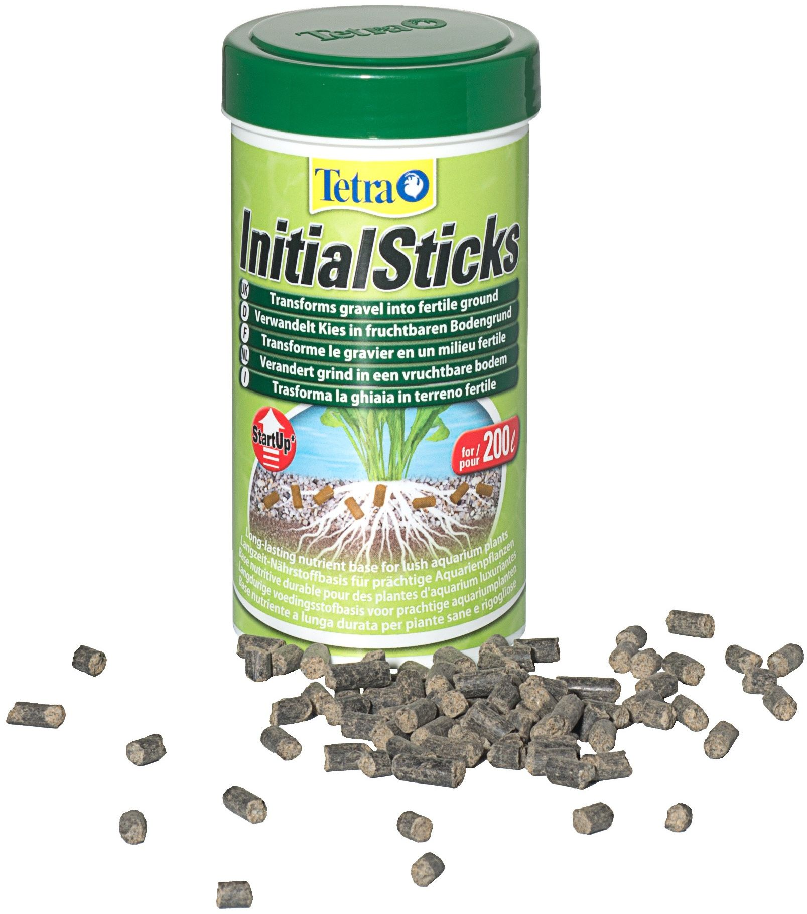 Tetra Initial Sticks - pałeczki wspomagające rozwój roślin akwariowych