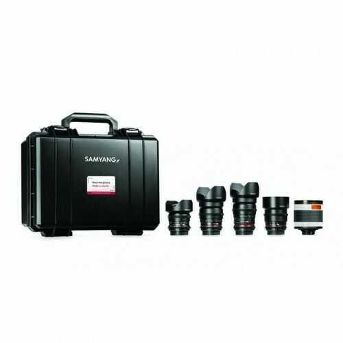 Samyang VDSLR Kit 4 (14mm, 24mm, 35mm, 85mm, 500mm) Sony
