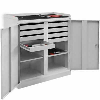 Szafa narzędziowa SZW 108 do warsztatu wysuwane półki