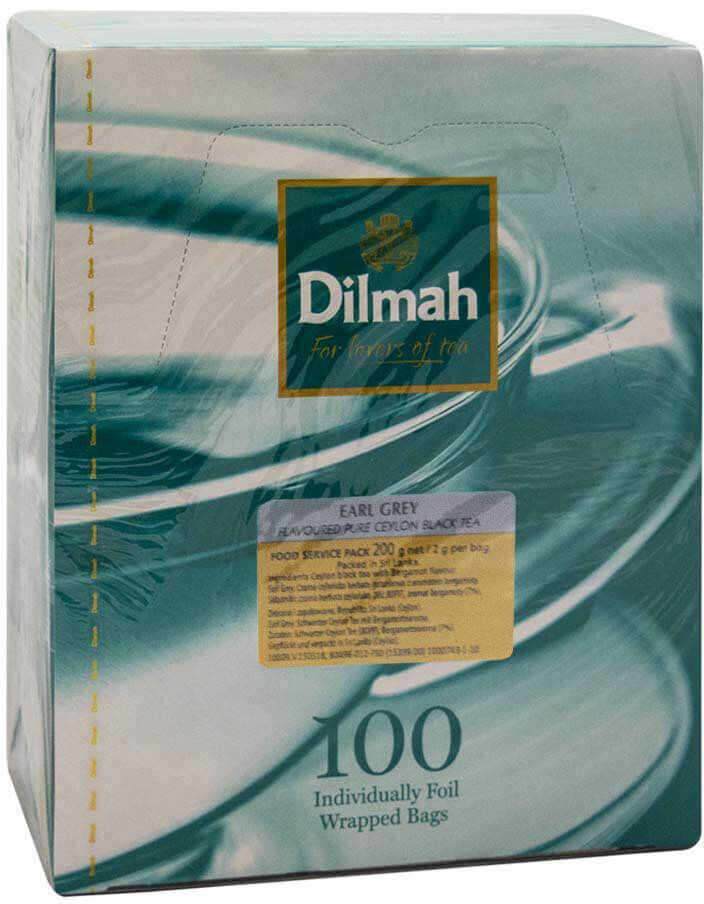 Dilmah Earl Grey 100 torebek
