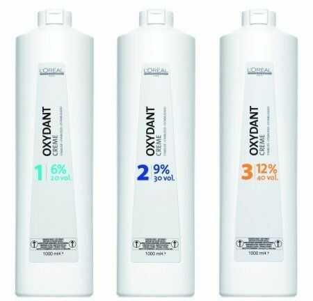 LOREAL oxydant, woda w kremie do farb Majirel, Majiblond i Majirouge, 6%, 9%, 12%, 1000ml