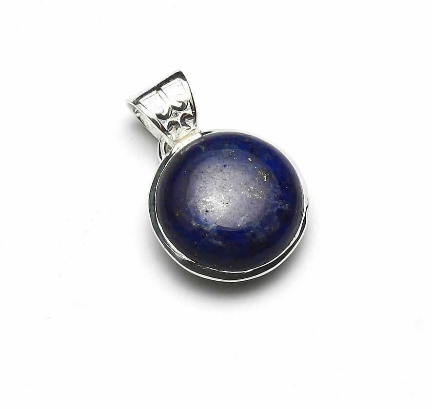 Kuźnia Srebra - Zawieszka srebrna, 25mm, Lapis Lazuli, 5g, model