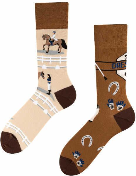 Dressage, Todo Socks, Jeździectwo, Konie, Podkowy, Kolorowe Skarpety