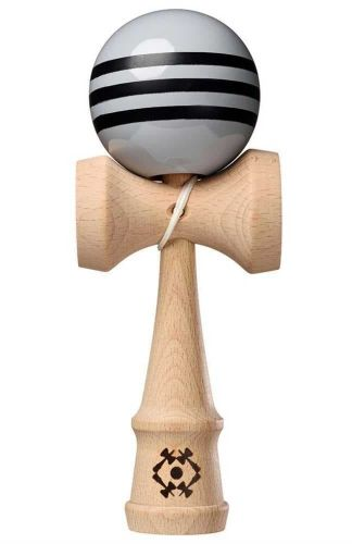 Tribute Kendama Triple Stripe Grey Black