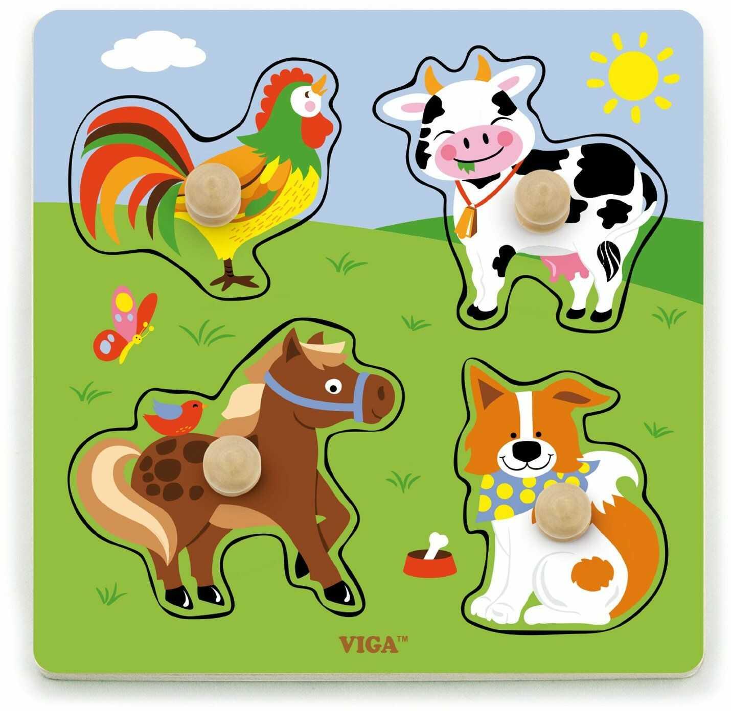 Viga 50839 Toys Hoys Hoernhof, Multi Color