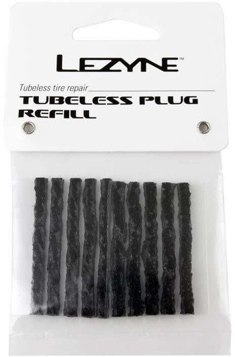 Gumowe paski Lezyne Tubeless Plug Refill do naprawy opon tubeless