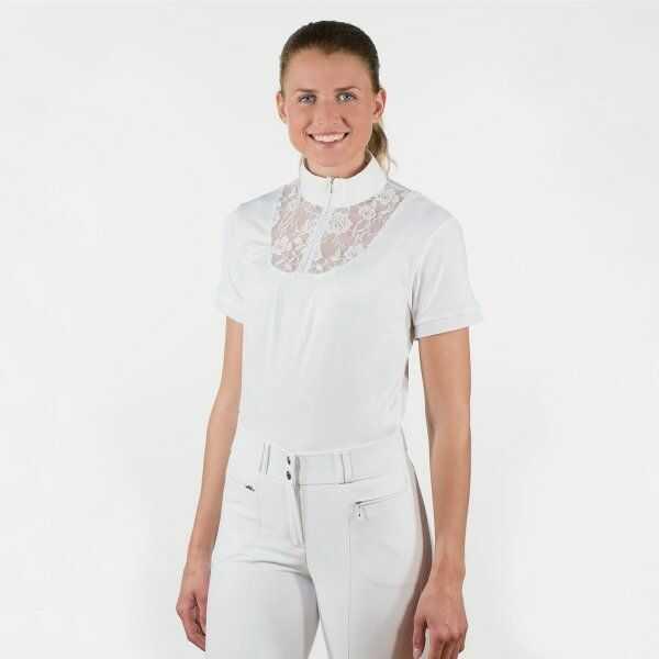 Koszulka konkursowa LACE damska - Horze