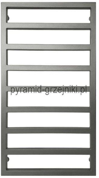Grzejnik dekoracyjny CELT - grafit str. 540/1000 mm