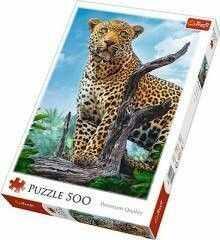 Puzzle TREFL 500 - Dziki Lampart, Wild leopard