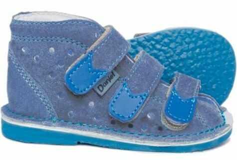 Daniel buty kapcie sandałki profilaktyczne dla dzieci jeans / blue styrogum