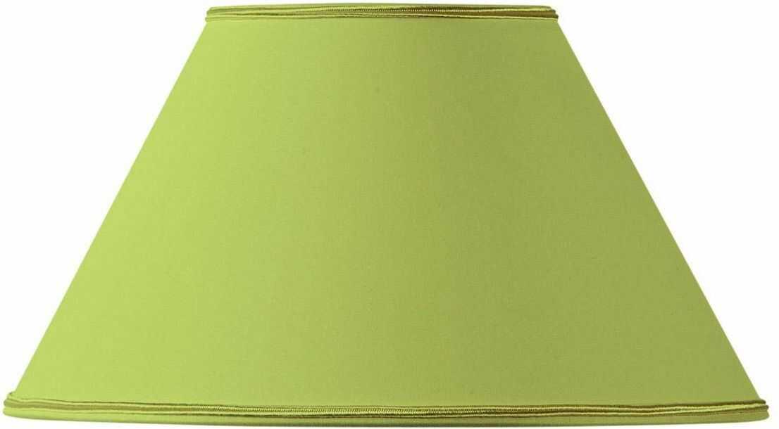 Klosz lampy w kształcie wiktoriańskim, Ø 25 x 11 x 15 cm, jasnozielony