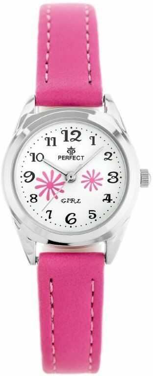 ZEGAREK DZIECIĘCY PERFECT G195 - pink/silver zp914c)