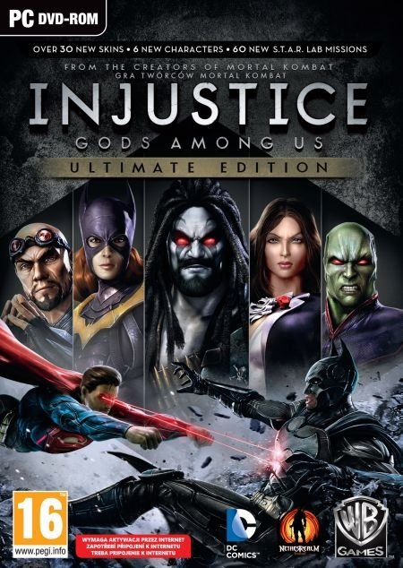 Injustice: Gods Among Us Ultimate Edition (PC) PL klucz Steam