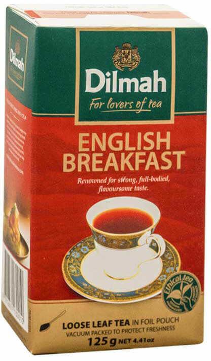 Dilmah English Breakfast 125 g liściasta