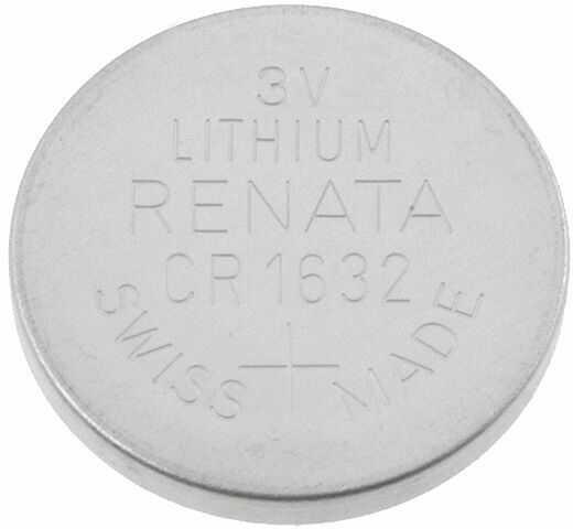 Bateria litowa 3V CR1632 RENATA fi16x3,2mm 125mAh