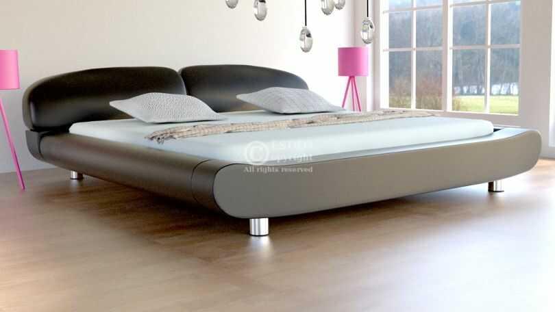 Łóżko sypialniane Kalisto meble do sypialni velur