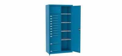 Szafa warsztatowa metalowa 1 skarbczyk 11 szuflad SL 168.21
