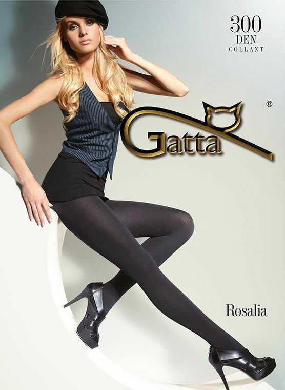 Gatta Rosalia 300 - Nero Black Tights
