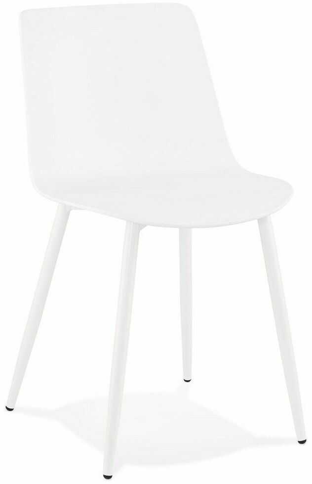 Kokoon design - krzesło simpla, białe