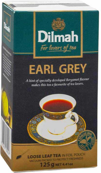 Dilmah Earl Grey 125 g liściasta