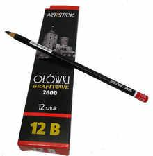 Ołówek grafitowy 2600 12B 12 szt