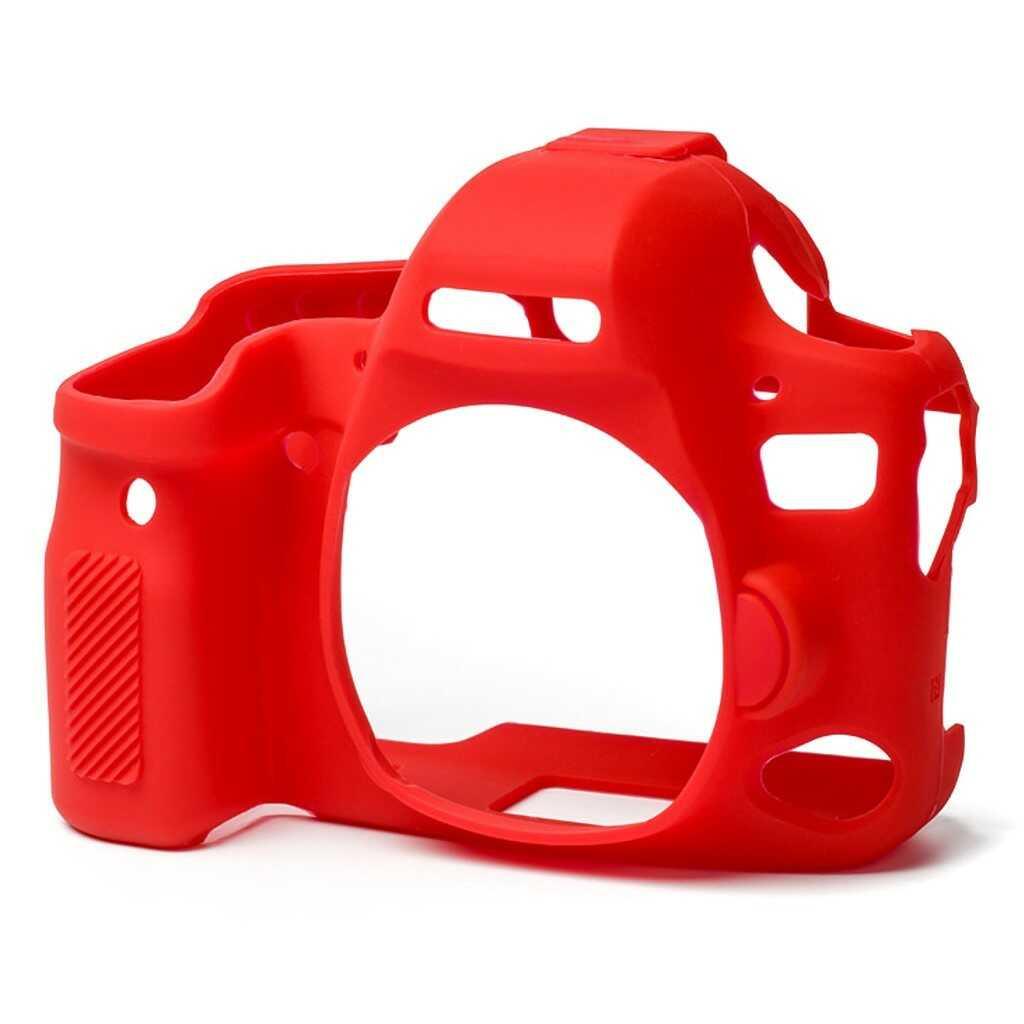 Osłona silikonowa easyCover do aparatów Canon EOS 6D Mark II czerwona