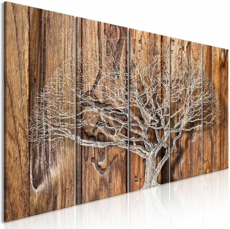 Obraz - kronika drzewa (5-częściowy) wąski