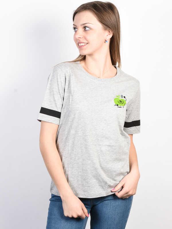 Element YAWYD HEATHER GREY t-shirt damski