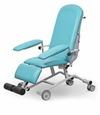 FoZa Basic Mobil fotel zabiegowy uniwersalny do dializ i opieki paliatywnej oraz iniekcji i chemioterapii UBM