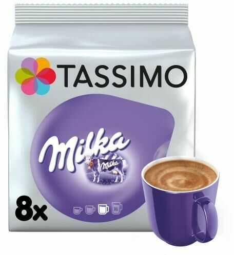 Tassimo Milka Gorąca czekolada 240g