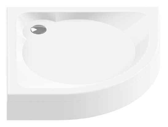 New Trendy brodzik półokrągły Cantare 100x100x17cm B-0254