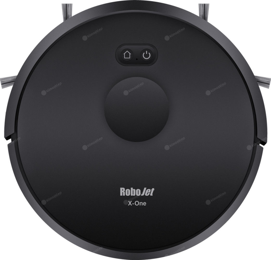 Robot sprzątający RoboJet X-One Black z funkcją mopowania