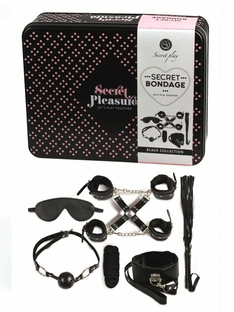 Secret Play Secret Bondage Kit Collection Black