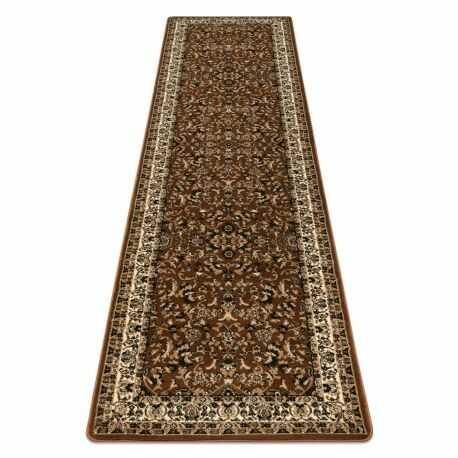 Dywan, Chodnik ROYAL ADR wzór 1745 brązowy do przedpokoju, na korytarz 60x200 cm