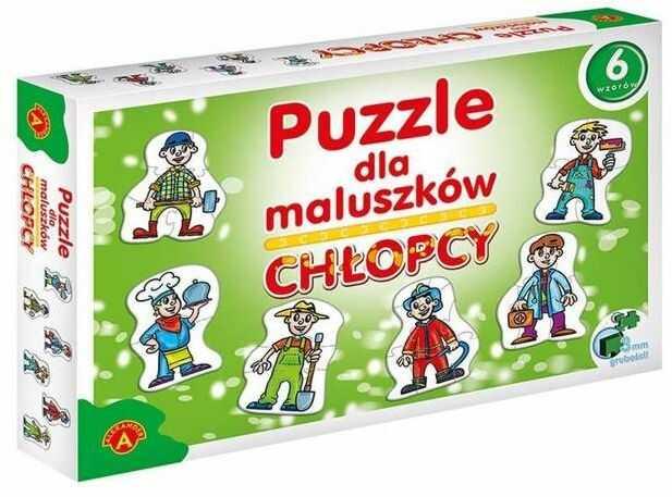 Puzzle dla maluszków - chłopcy ALEX - Alexander