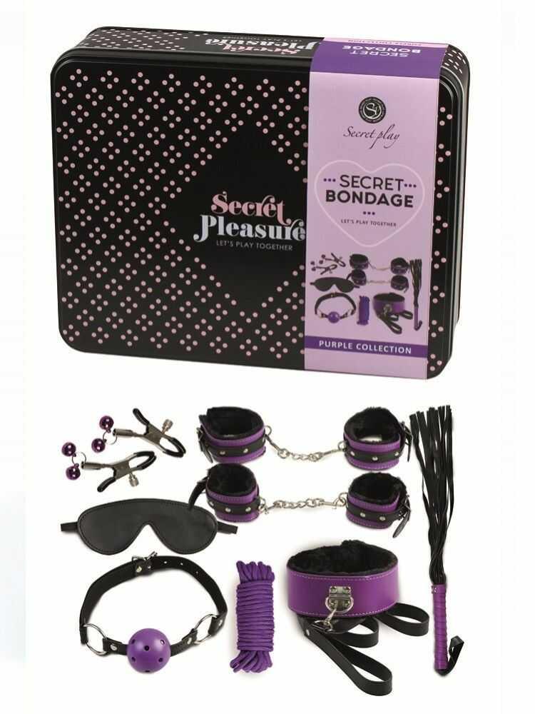 Secret Play Secret Bondage Kit Collection Purple