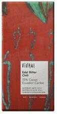 Czekolada gorzka z chili BIO 100g Vivani